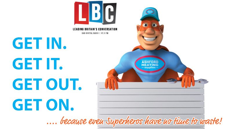 Have you heard our advertisements on LBC Radio?