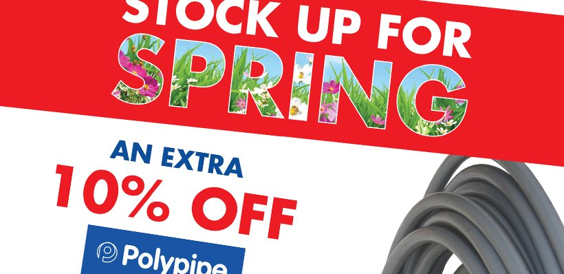Extra 10% OFF Polypipe Barrier Pipe Coils