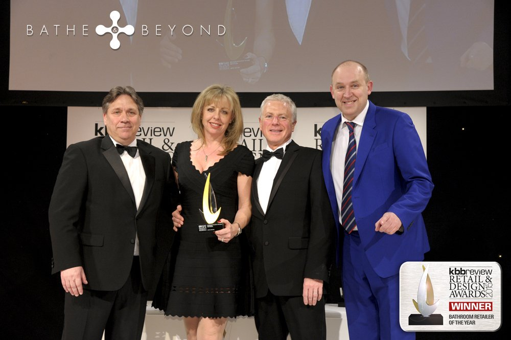 BATHE AND BEYOND WINS BATHROOM RETAILER OF THE YEAR 2015