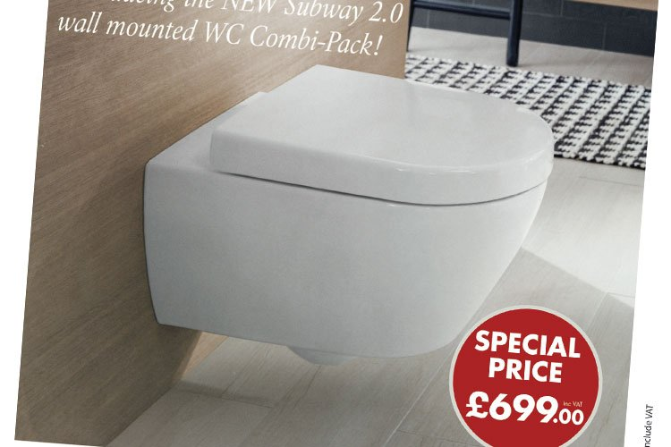 VILLEROY & BOCH SUBWAY 2.0 WC PACK