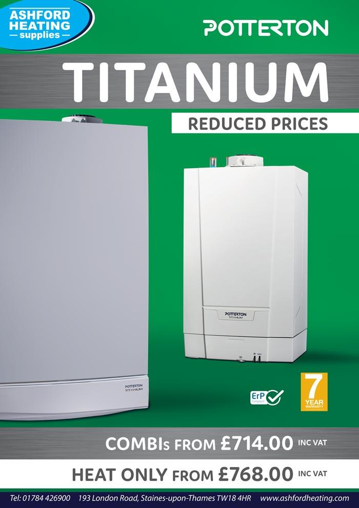 Potterton Titanium