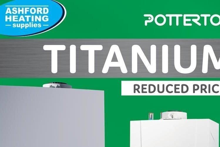 Potterton Titanium Reduced Prices