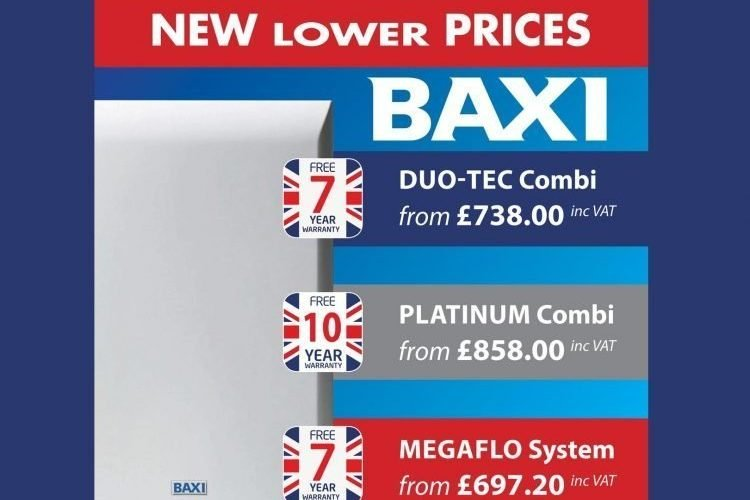 Baxi – New Lower Prices