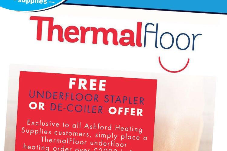 FREE Underfloor Stapler or De-coiler Offer