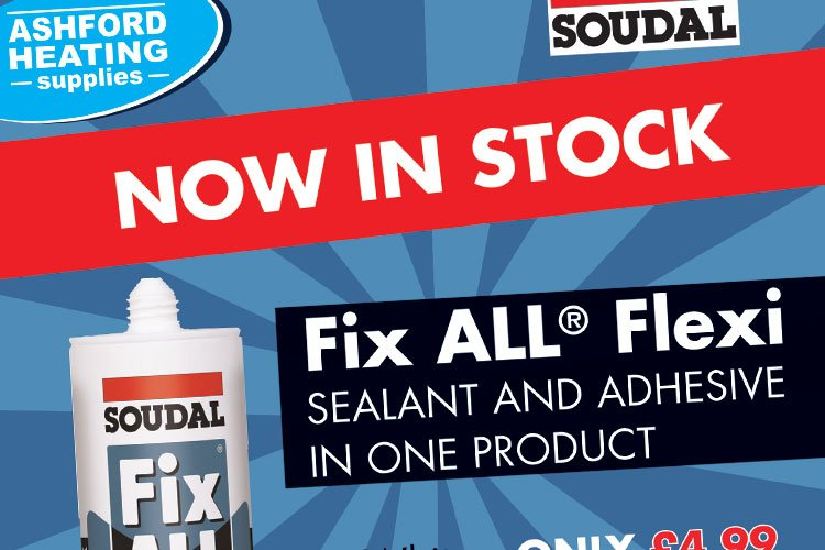 Soudal Fix ALL Flexi now in stock