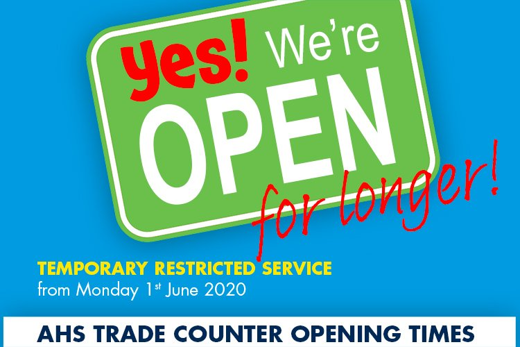 We are now open longer!