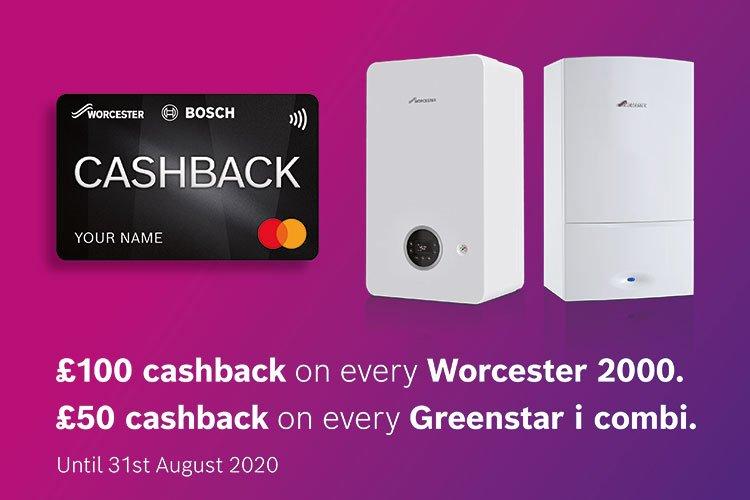 Worcester Installer Cashback Promotion
