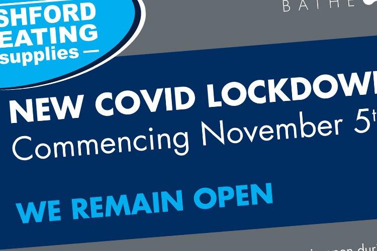 November Lockdown – We remain open!